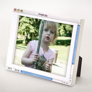 Analog Digital Photo Frame